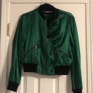 Alice + Olivia Jackets & Coats - Alive and Olivia size small bomber jacket